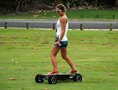 Motorized Off Road Skateboard
