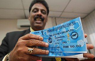 Datuk S. Sivasundram, Pengerusi Jawatankuasa Tiket dan Pintu FAM