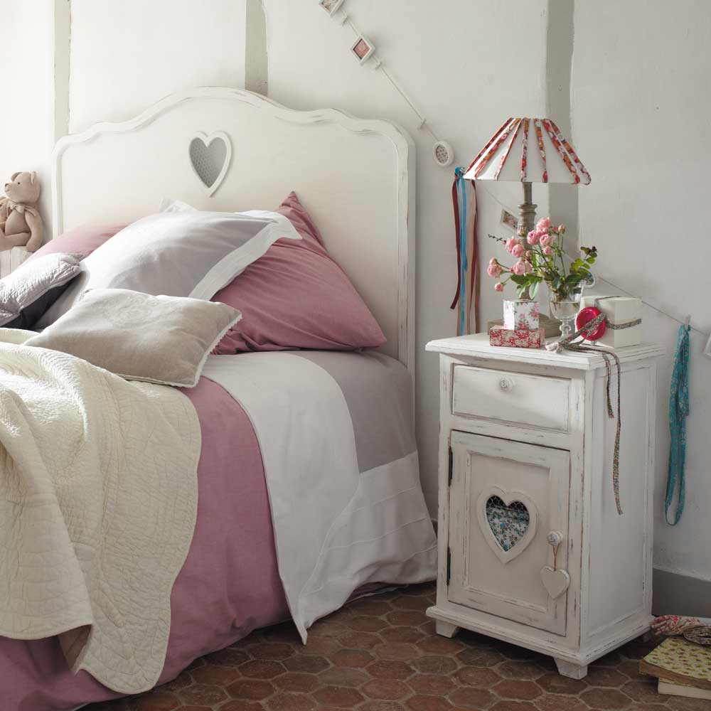 My lovely pink pages romanticism by maisons du monde - Testate letto maison du monde ...