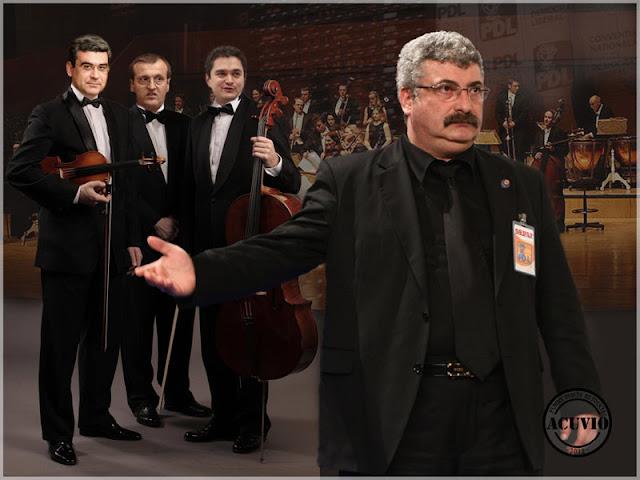 Funny photo Silviu Prigoană Cristian Preda Teodor Baconschi Theodor Paleologu