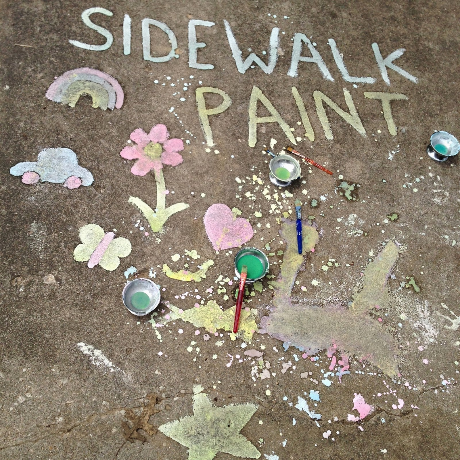 Sidewalk paint @ whatilivefor.net