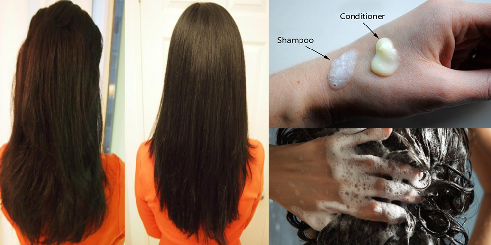 How should you shampoo and condition your hair
