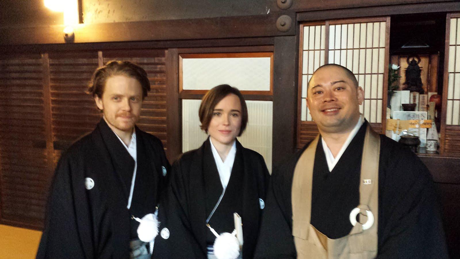 Ms. Ellen Page's VIsit