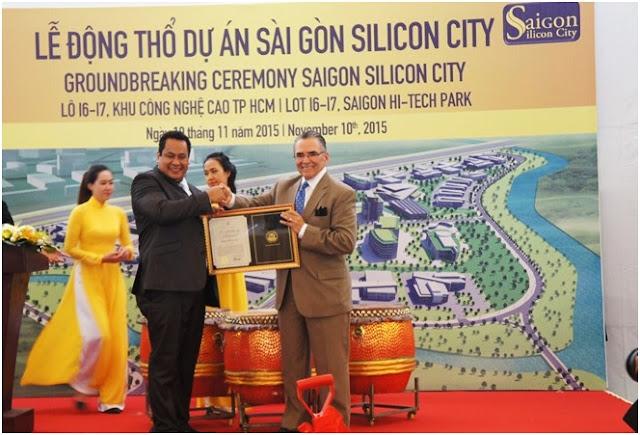 Động thỗ dự án Saigon Silicon City tại khu công nghệ cao