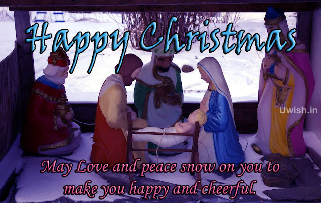 Happy Merry Christmas wishes and greetings