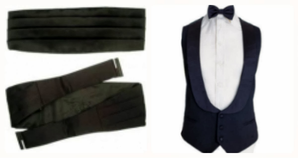 Black Tie: Cummerbund Vs. Waistcoat