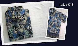 Baju Batik Pria 67B