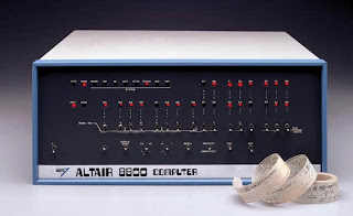 Altair 8800 computer with Altair BASIC