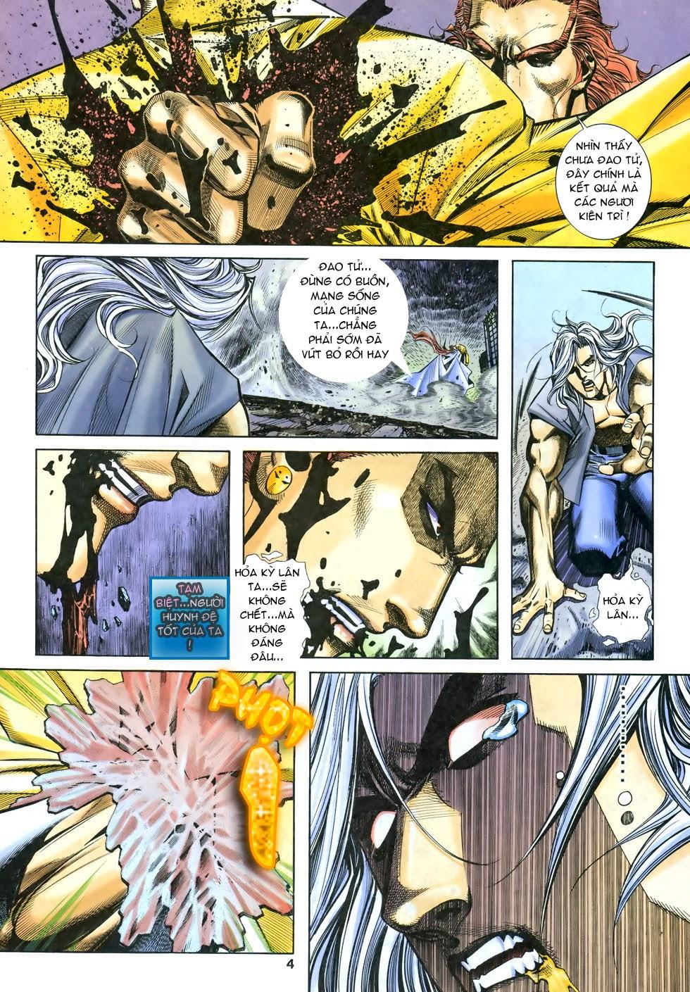 X Bạo Tộc chap 68 - Trang 5