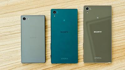 Sony Xperia Z5, Z5 Compact dan Z5 Premium