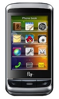Fly E321 Dual SIM Mobile with Large Touchscreen Display