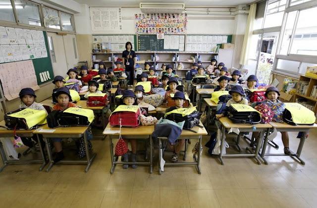 Tokyo'da bir sınıf