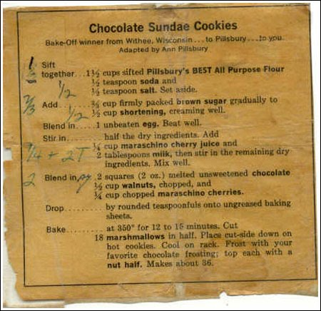 A VERY OLD RECIPE