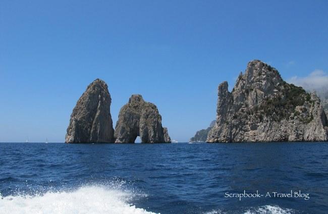 Capri Boat ride Italy