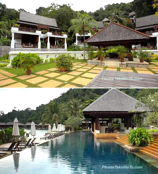 Resort Pangkor Laut, Maláysia