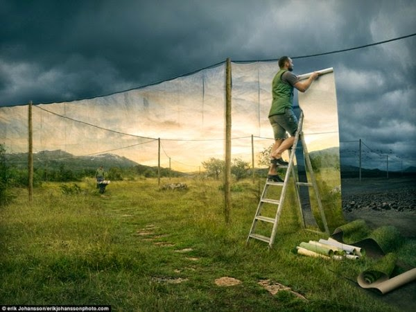 Những bức ảnh PhotoShop cực ảo