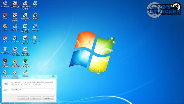 Trick menghapus virus komputer manual