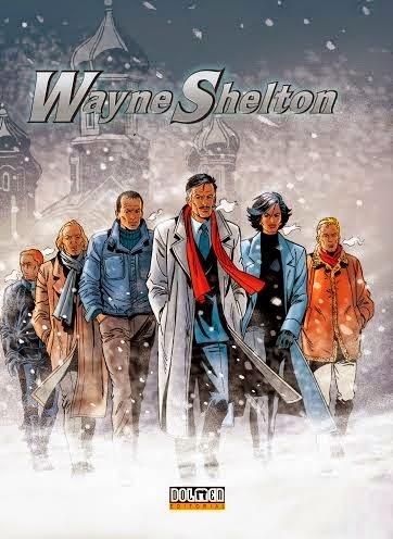 wayne shelton comic dolmen