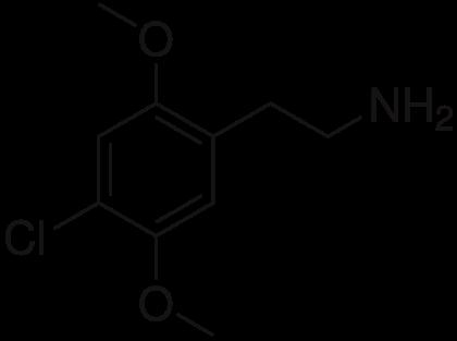 2C-C un analogo de la droga de síntesis MDMA
