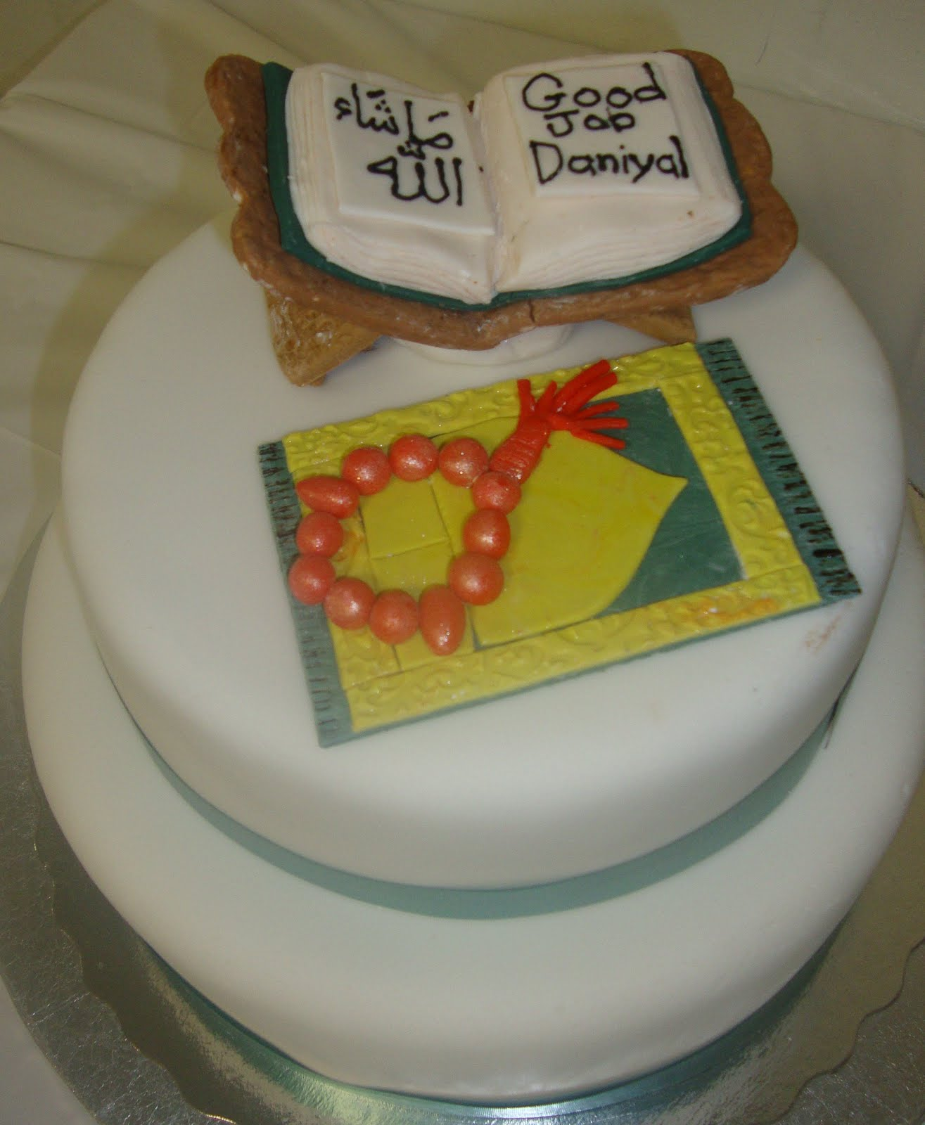 Scrumptious Sweets Aameen Party Quran Cake Completed Reading The