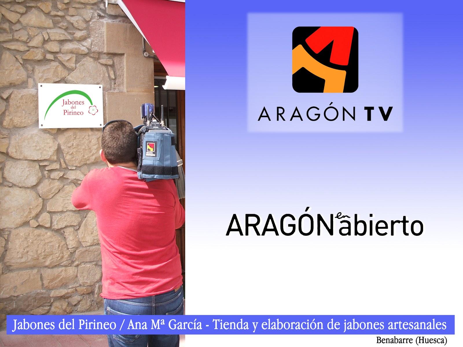 Televisión con Jabones del Pirineo