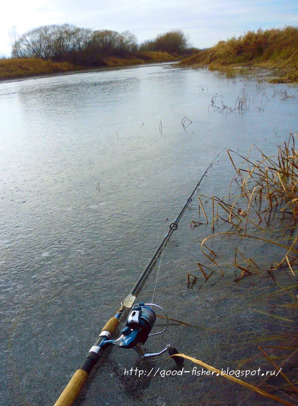 Рыбалка. Рыбалка в октябре
