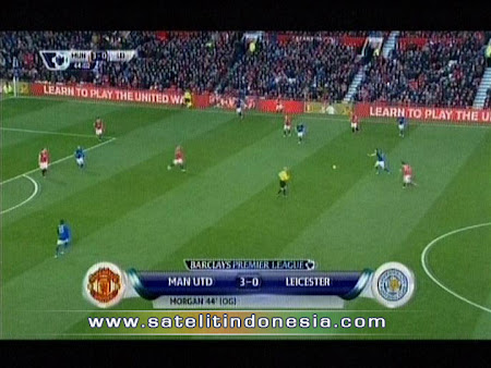 tv yang menyiarkan manchester united vs Leicester City