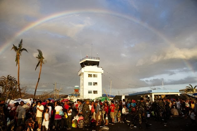 Cerulean Rose Diary Rainbow Of Hope After Typhoon Yolanda Haiyan