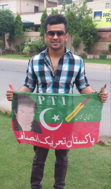 Fahad Sheikh - Pakistan Celebrities voted for Pakistan