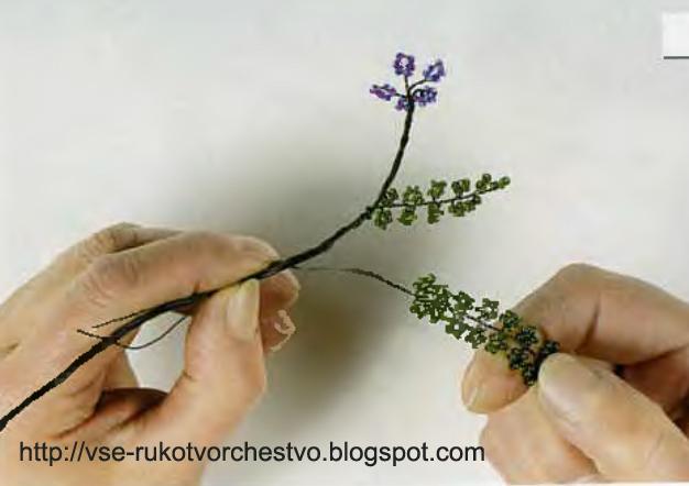 Как делаются деревья из бисера мастер класс