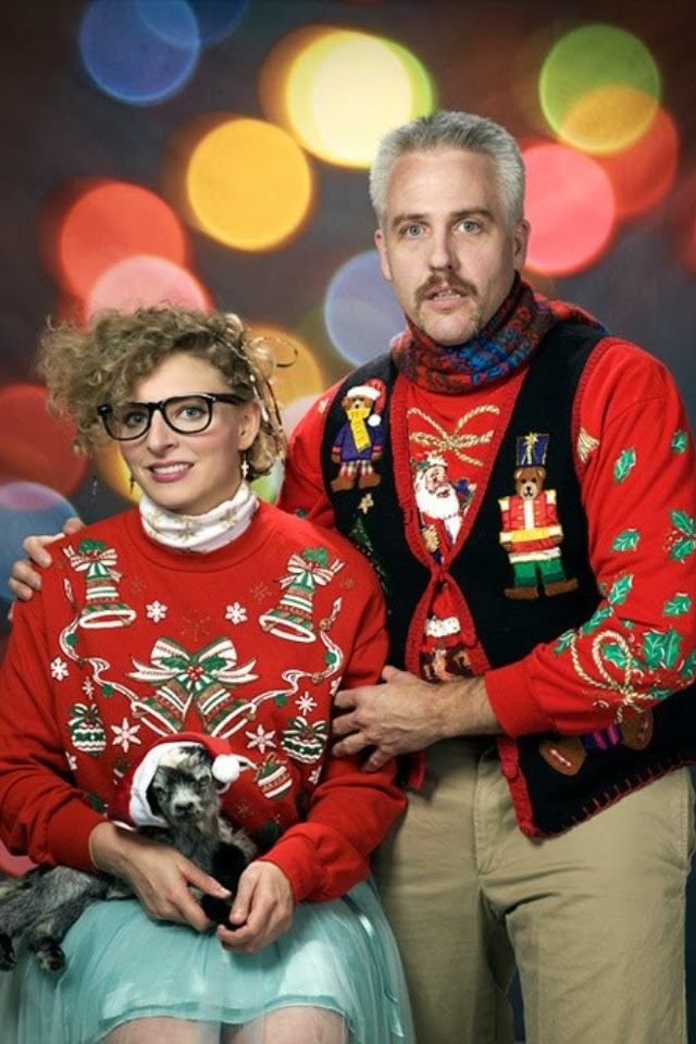 Funny Christmas Card For Couples