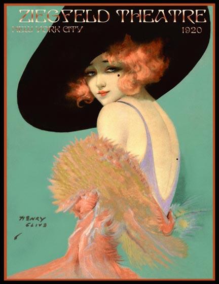 vintage henry clive ziegfeld magazine