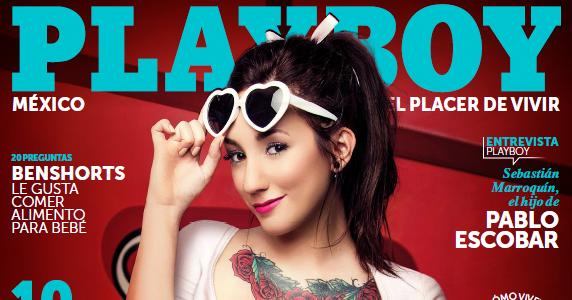 Banner Playboy Mexico Daniela Bos