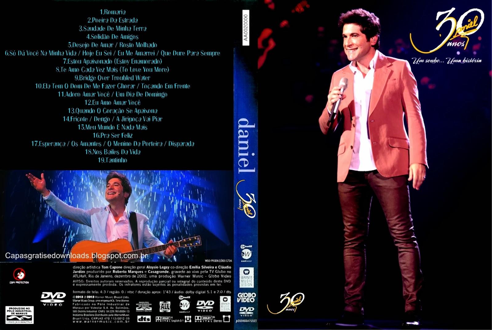 Daniel 30 Anos O Musical DVD-R Daniel   O Musical 30 Anos