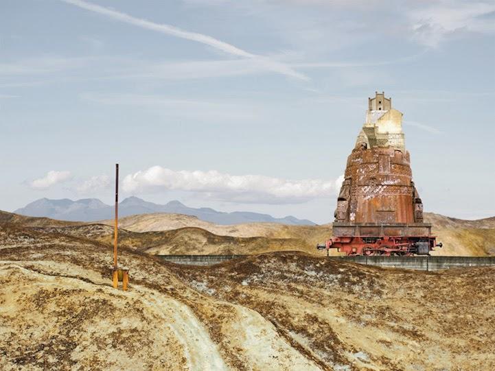 Matthias Jung surreal houses