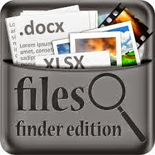 https://itunes.apple.com/us/app/files-finder-edition/id733259837?mt=8