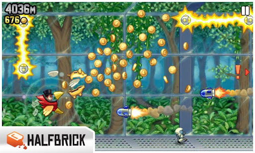 Jetpack Joyride para Android, iPhone y Windows Phone