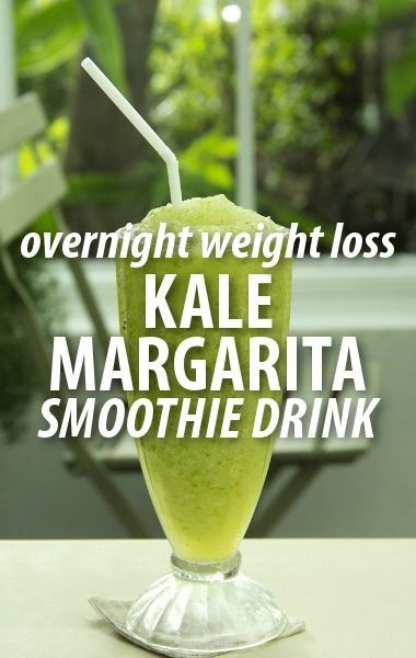 Kale Margarita Smoothie Recipe Overnight Diet Secret Ingredient