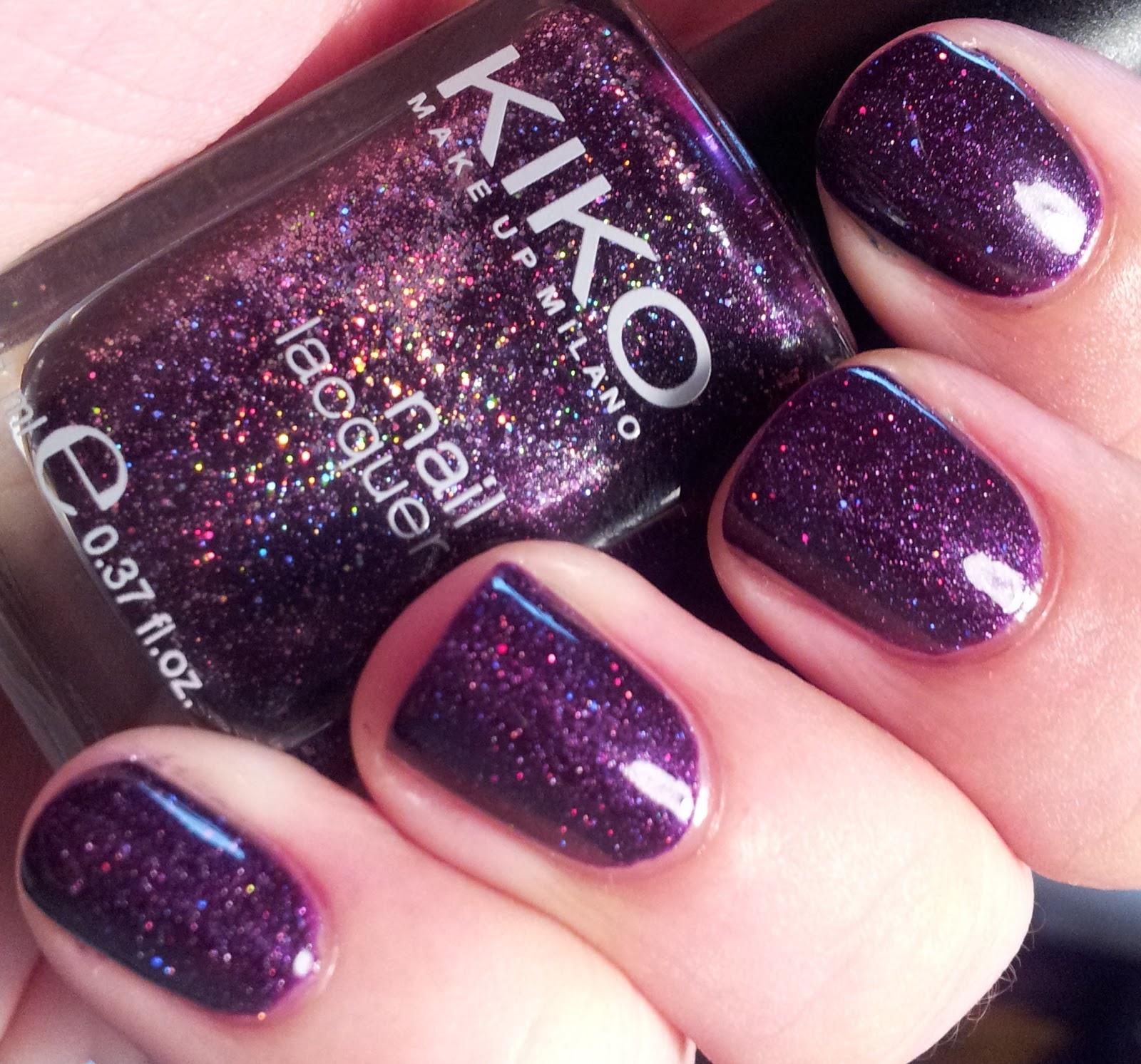 The Nail Polish Guru: NOTD: Kiko #255 & Cult Nails Seduction