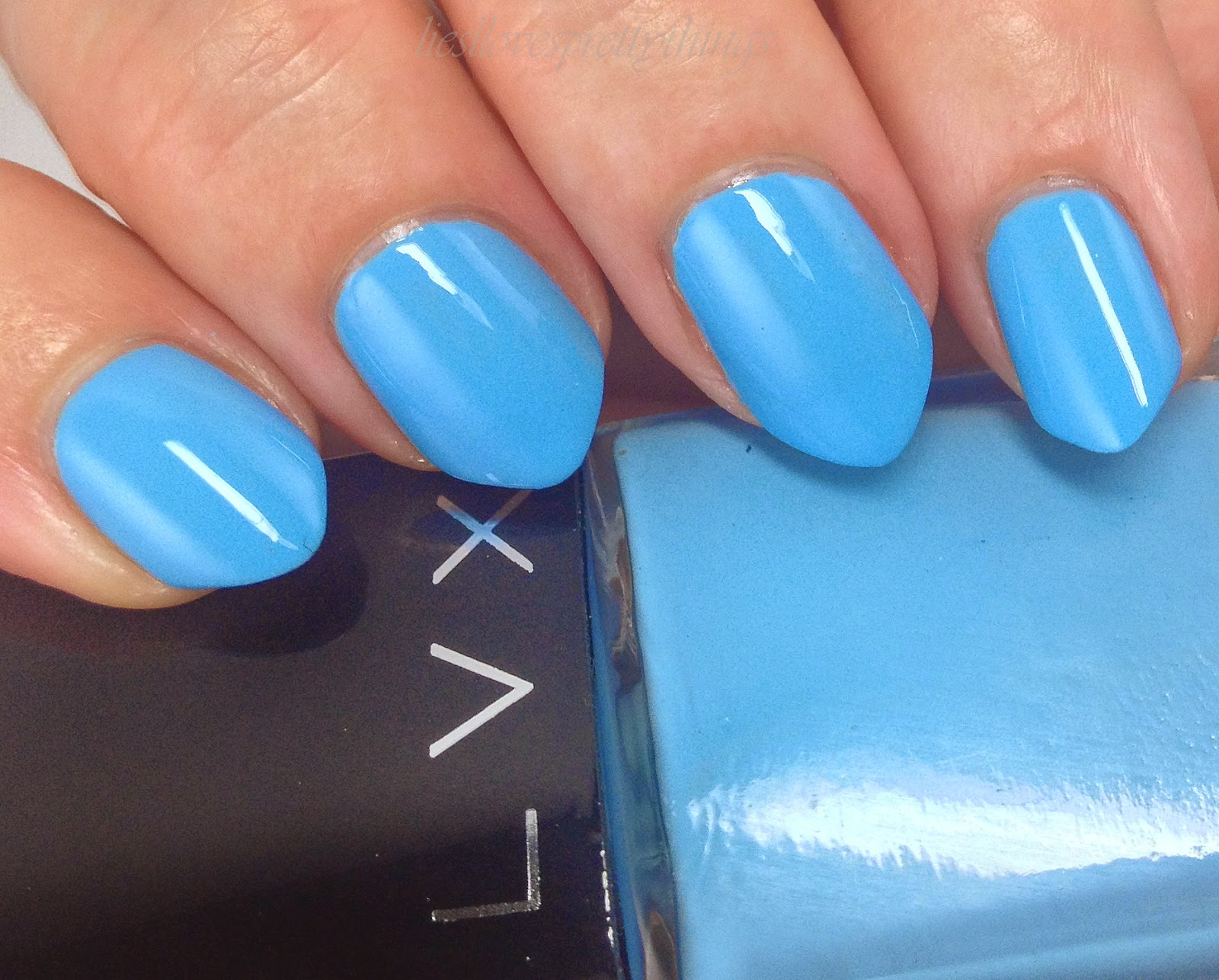 LVX Summer 2014 Collection Laguna swatch and review
