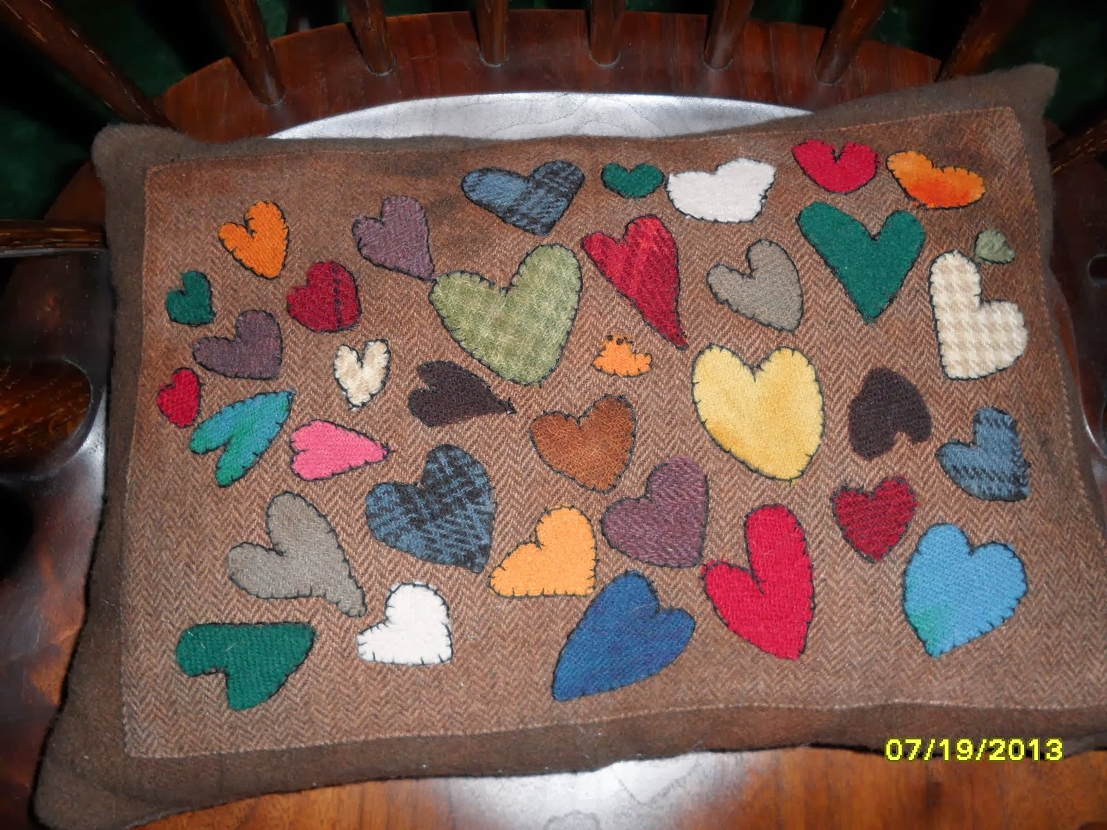 Hearts in Wool