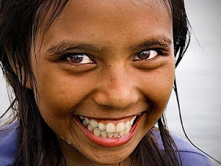 big toothy smile
