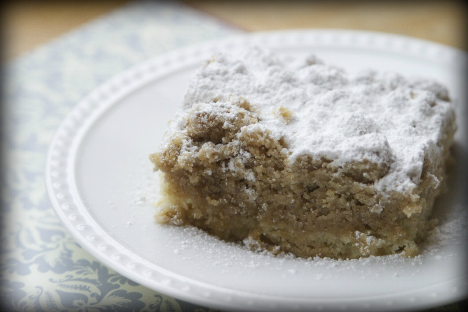 Jersey Shore Crumb Cake Recipe