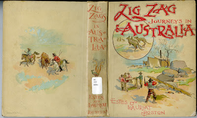 Cover of Hezekiah Butterworth's Zigzag Journeys in Australia