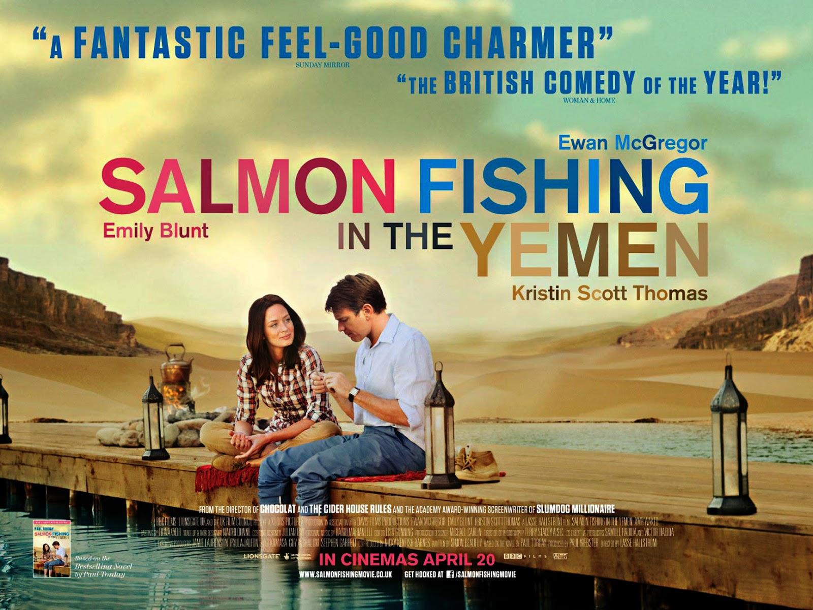 Intelliblog movie monday salmon fishing in the yemen for Salmon fishing in the yemen