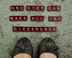 One Step At A Time!