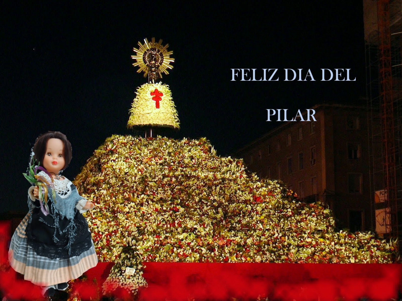 Traje de baturra especial Pilar