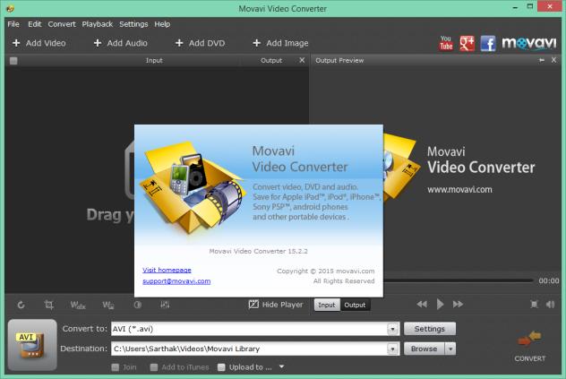 Movavi Video Converter v15.2.2 Protable Precracked