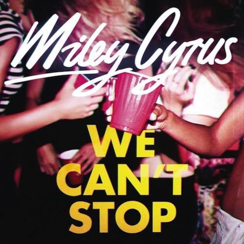 Miley Cyrus - We Can't Stop - copertina traduzione testo video ufficiale download