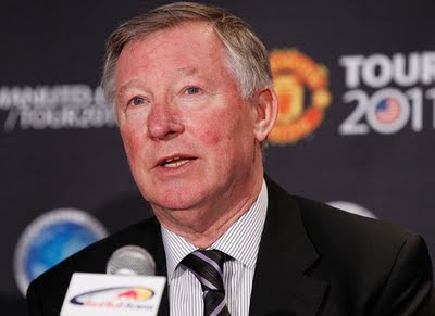 Sir Alex Ferguson Press Conference Tour USA 2011